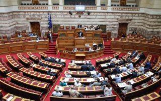 Η εθνική αντιπροσωπεία καλείται σήμερα να εγκρίνει τις δύο τροπολογίες του υπ. Εθνικής Αμυνας και του υπ. Υγείας στη Βουλή, δίχως καμία ενημέρωση για το κόστος στον προϋπολογισμό.