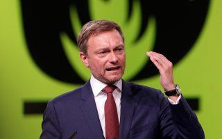 Ο επικεφαλής του φιλελεύθερου FDP, Κρίστιαν Λίντνερ, μπορεί να υπολογίζει σε σημαντικές χορηγίες.