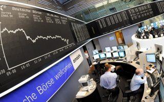 Ο δείκτης DAX του γερμανικού χρηματιστηρίου έκλεισε χθες με απώλειες 0,22%. «Η πορεία των εταιρικών εσόδων στη Γερμανία δεν είναι ιδιαίτερα δυναμική», αναφέρει ο Πιερ Μπος, επικεφαλής στρατηγικής της Credit Suisse Wealth Management.