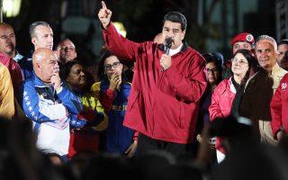 Αλλη μία δοκιμασία για την κυβέρνηση Μαδούρο, που συνεχώς διολισθαίνει σε αντιδημοκρατικές πρακτικές, αποτελεί η πιθανότητα οι ΗΠΑ να απαγορεύσουν τις εισαγωγές πετρελαίου από τη Βενεζουέλα.