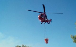 Κυβερνητικός αξιωματούχος δήλωσε χθες στην «Κ» ότι το πρώτο ελικόπτερο ενδέχεται να έρθει το Σάββατο στην Ελλάδα από τη Βουλγαρία.