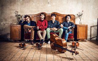 Το Vision String Quartet από το Βερολίνο συμμετέχει στο Samos Young Artists Festival.