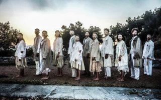 «Οιδίπους Τύραννος - Χορικά» από τη Δραματική Σχολή του ΚΘΒΕ στους Φιλίππους.