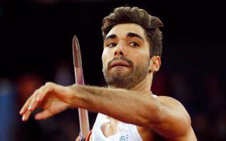 Ο Ελληνας πρωταθλητής του ακοντισμού έστειλε το ακόντιο στα 84,60 και προκρίθηκε στον τελικό.