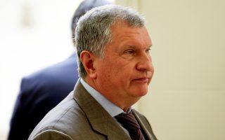 Ο επικεφαλής της εταιρείας Rosneft, Ιγκόρ Σετσίν, τον Οκτώβριο του 2016 στο Καράκας.