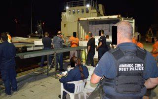 Ανδρες του Λιμενικού εντόπισαν και ρυμούλκησαν τις πρώτες πρωινές ώρες της 15ης Ιουνίου, νότια της Κρήτης, το φορτηγό πλοίο «Golendri».