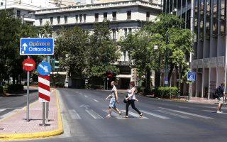 Η Αθήνα του Δεκαπενταύγουστου. Αδεια και ήρεμη λίγο πριν από τη μεγάλη επιστροφή.