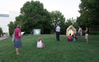 «Ο Κήπος βλέπει» , έκθεση με ελεύθερη είσοδο στον Κήπο του Μεγάρου Μουσικής.