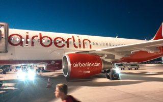 H Air Berlin βρέθηκε στα όρια της χρεοκοπίας μετά την άρνηση της Etihad του Αμπου Ντάμπι, η οποία είναι ο μεγαλύτερος μέτοχος της Air Berlin, να διοχετεύσει εκ νέου κεφάλαια στα ταμεία της γερμανικής αεροπορικής εταιρείας, κάτι που έχει κάνει επανειλημμένως τα τελευταία έξι χρόνια.