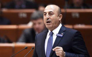 Οι αναφορές του κ. Τσαβούσογλου έγιναν στο πλαίσιο απάντησης σε ερώτηση που κατατέθηκε στην τουρκική Βουλή.