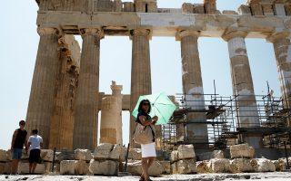 Σχεδόν 8 εκατ. τουρίστες επισκέφθηκαν την Ελλάδα κατά το πρώτο εξάμηνο του έτους, με τη μεγαλύτερη άνοδο να προέρχεται από τη Γερμανία (18%) και τη Ρωσία (15%).