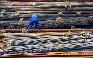 Η κατάρρευση της οικοδομικής δραστηριότητας συμπαρέσυρε τις εταιρείες σιδήρου-χάλυβα.