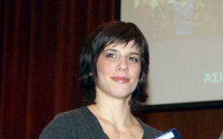 Η Μαρία Πρεβολαράκη.