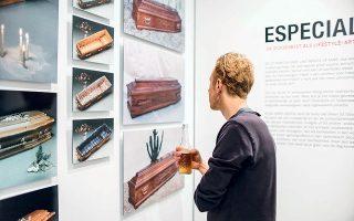 Στο Μουσείο Tot Zover η έκθεση που παρουσιάζεται αυτή την περίοδο έχει ως θέμα, μεταξύ άλλων, πώς αντιμετωπίζουν τον θάνατο οι διαφορετικές κουλτούρες που υπάρχουν στην πόλη.