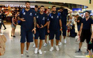 Η εθνική Ελλάδος εγκαταστάθηκε από χθες στο Ελσίνκι, εκεί όπου θα αντιμετωπίσει την Πέμπτη την Ισλανδία στο πρώτο ματς της διοργάνωσης.