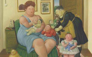 H γυναίκα-τροφός είναι ένας από τους πιο χαρακτηριστικούς πίνακες του Φερνάντο Μποτερό με τη θεματική της οικογένειας. Οι υπερβολές των γονέων, όμως, δημιουργούν ενήλικες με συμπεριφορές παιδιών σε πολλές πτυχές της ζωής.