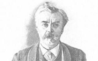 Ο αιρετικός συγγραφέας Λεόν Μπλουά (1846-1917).