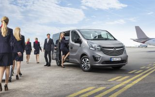 The new Opel Vivaro Tourer: The comfortable business lounge.
