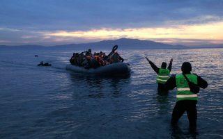 Περισσότεροι πρόσφυγες από Συρία και Ιράκ καταγράφονται μεταξύ όσων καταφθάνουν αυτές τις ημέρες στα ελληνικά νησιά.