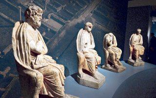 «Θεοί και θνητοί στον Ολυμπο: αρχαίο Δίον, η πόλη του Δία», έκθεση στο Ωνάσειο Πολιτιστικό Κέντρο Νέας Υόρκης.