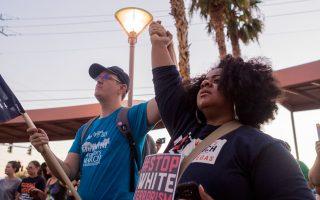 Εκδήλωση στη μνήμη της 32χρονης Χέδερ Χέγερ πραγματοποιήθηκε χθες στο Λας Βέγκας, στη Νεβάδα.