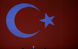 Turkish President Tayyip Erdogan makes a speech at the 22nd World Petroleum Congress in Istanbul, Turkey, July 10, 2017. REUTERS/Murad Sezer