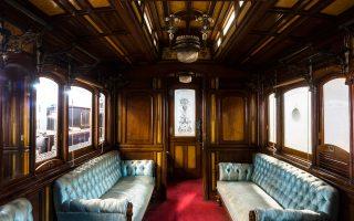 Αρωμα βασιλικής πολυτέλειας και αίσθημα ρομαντισμού για τους επισκέπτες της 82ης ΔΕΘ, όπου θα εκτεθεί η βασιλική άμαξα των πρώην Σιδηροδρόμων Θεσσαλίας, η οποία εξυπηρετούσε τις μετακινήσεις της βασιλικής οικογένειας από την εποχή του Γεωργίου Α΄.