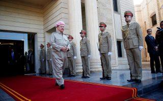 Ο πρόεδρος του ιρακινού Κουρδιστάν, Μασούντ Μπαρζανί.