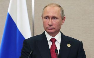 Ο Ρώσος πρόεδρος Βλαντιμίρ Πούτιν στη Σύνοδο Κορυφής της ομάδας BRICS, στο Σιαμέν της Κίνας.