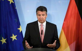 H Γερμανία είναι κερδισμένη από την Ε.Ε., ανέφερε ο Γερμανός υπουργός Εξωτερικών Ζίγκμαρ Γκάμπριελ στην τελευταία συνεδρίαση της Μπούντεσταγκ, καθώς όπως είπε, «εμείς είμαστε οι οικονομικά κερδισμένοι της Ευρωπαϊκής Ενωσης. Αυτή είναι η αλήθεια».