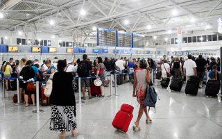 Μέσω του αεροδρομίου της Αθήνας διακινήθηκαν 2.538.367 επιβάτες, του Ηρακλείου 1.405.037, της Ρόδου 1.016.520, της Θεσσαλονίκης 775.986 και της Κέρκυρας 622.866.