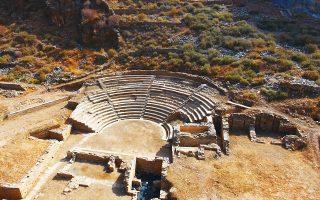 Στο αρχαίο θέατρο της Καρθαίας θα παρουσιαστεί η ακροτελεύτια Ραψωδία Ω από την «Ιλιάδα» του Ομήρου.
