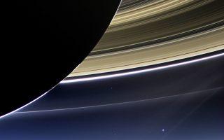 Το «Κασίνι» θα πάρει τις τελευταίες του φωτογραφίες από τη σκοτεινή πλευρά του Κρόνου για να παρατηρηθεί το φάσμα της υπέρυθρης και υπεριώδους ακτινοβολίας.