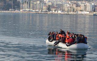 Από την Κυριακή έως και χθες στα ελληνικά νησιά είχαν φθάσει συνολικά 1.101 πρόσφυγες και μετανάστες.