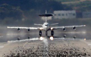 Κατασκοπευτικό αεροπλάνο AWACS της Νότιας Κορέας απογειώνεται λίγες ώρες μετά τη νέα πυραυλική δοκιμή της Πιονγιάνγκ.