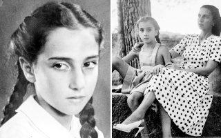 Η μικρή Δάφνη και ο ιδιωτικός της κόσμος (αριστερά). Μητέρα και κόρη. Η ζωή συνεχίστηκε παρά τις δυσκολίες.