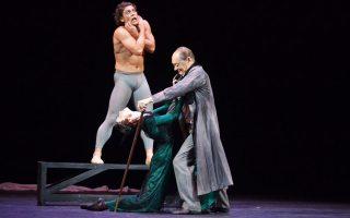 Ο Ιβάν Βασίλιεφ συναντά τον θρύλο του χορού Μιχαήλ Λαβρόφσκι στο Ηρώδειο.