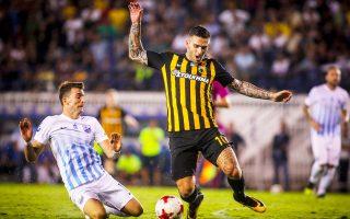 Η ΑΕΚ αντιμετωπίζει στις 20.30 τη Λαμία, για την πρώτη αγωνιστική της φάσης των ομίλων στο Κύπελλο Ελλάδος.