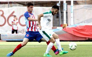 Ο Βιγιαφάνες θα αγωνιστεί για πρώτη φορά φέτος κόντρα στη Λάρισα.