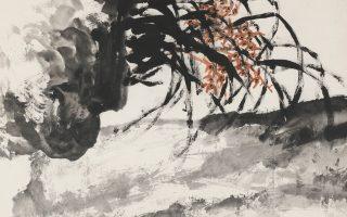 Λεπτομέρεια του έργου «Αρωμα ορχιδέας» (1982) του Ζου Κιζάν.