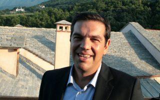 Ο Αλ. Τσίπρας είχε επισκεφθεί τον Αύγουστο του 2014 το Αγιον Ορος, ως αρχηγός της αξιωματικής αντιπολίτευσης.