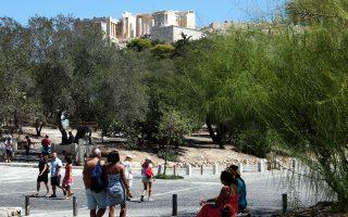 Παρά την οικονομική κρίση, η Αθήνα κατάφερε να υποστηρίξει τον πολιτισμό και τον τουρισμό.