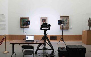 Η Art Camera έχει απαθανατίσει τουλάχιστον 2.000 έργα τέχνης.