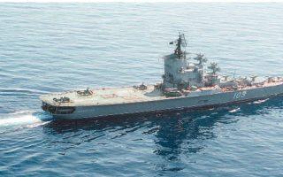 Ελικοπτεροφόρο κλάσης «Μόσκβα». Τα νέα σκάφη του σοβιετικού πολεμικού ναυτικού καταδείκνυαν τον νέο δυναμισμό της πολιτικής του Κρεμλίνου, που επιζητούσε την επέκταση της επιρροής του σε πρόσθετες περιοχές του πλανήτη. Το ίδιο το «Μόσκβα» κατέβηκε στη Μεσόγειο στα τέλη της δεκαετίας του 1960.