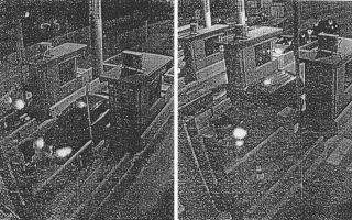 Από το υλικό των καμερών στα διόδια της Αττικής Οδού, που παρουσιάζει σήμερα η «Κ», προκύπτει ότι το αυτοκίνητο του θύματος (αριστερά) ακολουθούσε το τζιπ του Τμήματος Ασφαλείας Μενιδίου (δεξιά), το οποίο ήταν «χρεωμένο» στον 36χρονο ανθυπαστυνόμο.