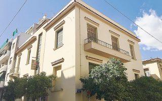 Η μεσοπολεμική οικία Ζαρίφη, Επτανήσου και Ανδρου, έχει μεταβληθεί σε κέλυφος και κιβωτό έργων τέχνης.