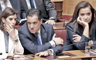 Η Αν-Μισέλ Ασημακοπούλου (αριστερά) ζήτησε συγγνώμη, επειδή –εκ παραδρομής το δίχως άλλο– απεφάνθη σε τηλεοπτική συζήτηση περί γερμανικών εκλογών ότι ο Σουλτς «τον ήπιε». Μένω, ωστόσο, με την απορία: Ποιον ήπιε ο Σουλτς;