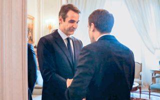 «Κύριε Μακρόν, οι Ελληνες αξίζουμε καλύτερα» (το κεντρικό μήνυμα Μητσοτάκη στη ΔΕΘ).