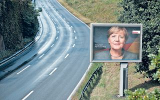 Aκόμη δεν είναι ξεκάθαρος ο δρόμος που θα ακολουθήσει η Αγκελα Μέρκελ στα ευρωπαϊκά ζητήματα. Θα γίνει όμως πιο εμφανής μετά τις γερμανικές εκλογές της 24ης Σεπτεμβρίου.