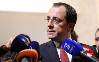 Ο Κύπριος κυβερνητικός εκπρόσωπος, Νίκος Χριστοδουλίδης.